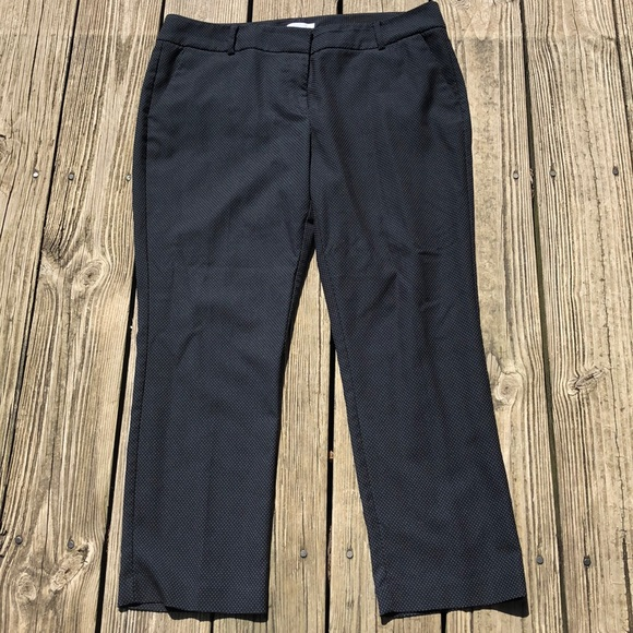 New York & Company Pants - New York & Company 14 pants black with white